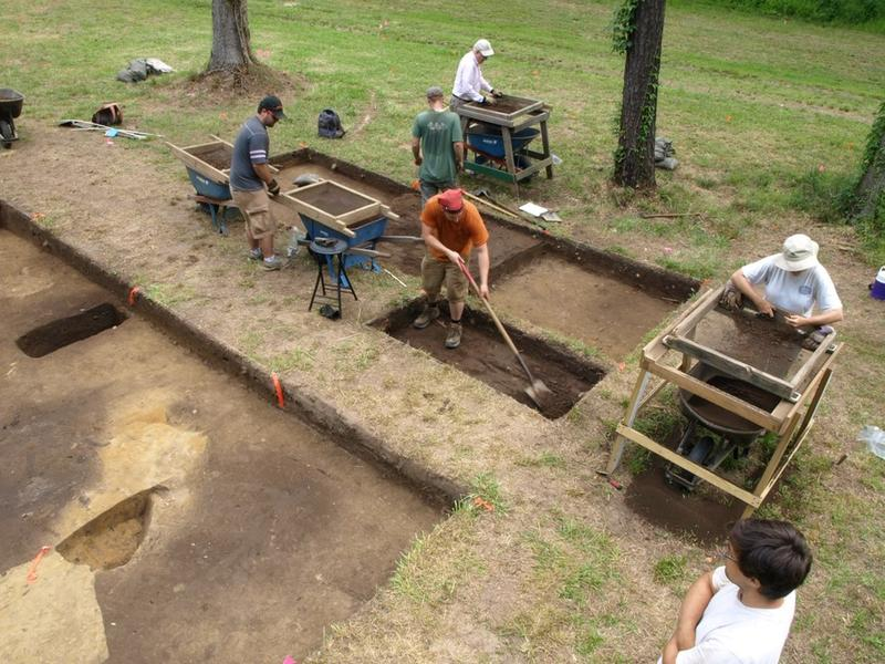Excavations at Site X in 2014 helped yield possible proof that a group of Roanoke colonists moved inland.