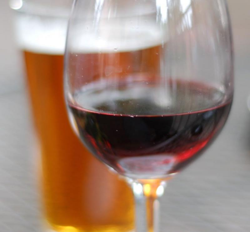 An image of a wine and beer mug