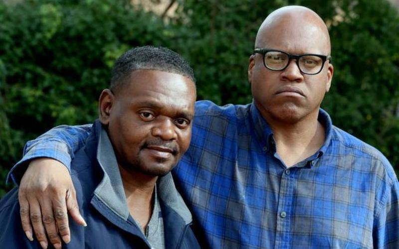 Henry McCollum, left, spent 30 years, 11 months and seven days on death row. Leon Brown was imprisoned at the age of 15 and spend the first decade in solitary confinement. In 2014 the men were released after DNA evidence implicated another man.