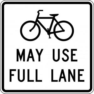 A picture of the proposed road sign.