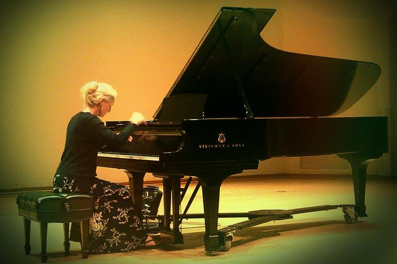Pianist Pamela Howland creates musical arrangments using the sounds of The Beatles with a classical music influence.