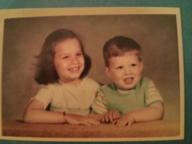 This is Melissa Radcliff and her younger brother, David.