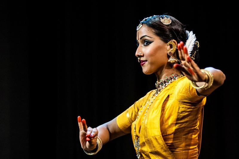An image of South Indian dancer Mythili Prakash