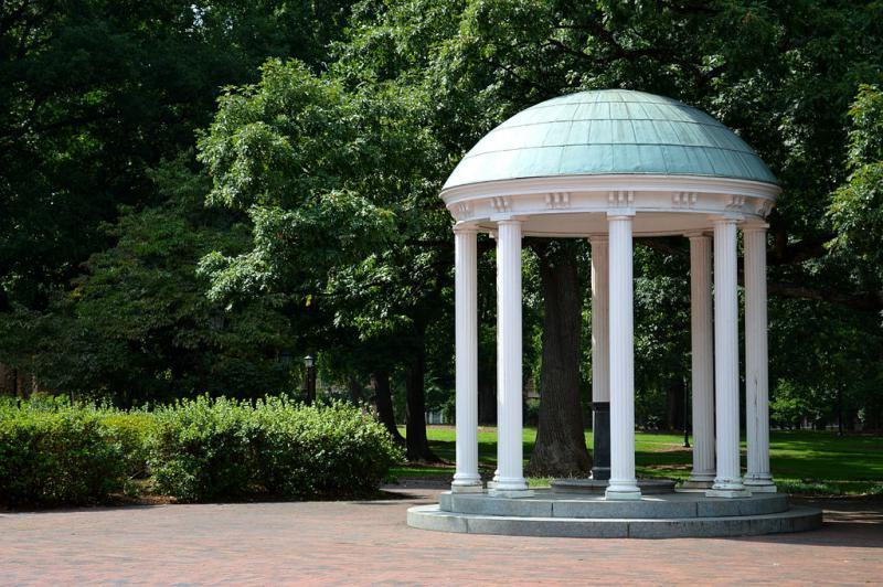 An image of UNC's Old Well