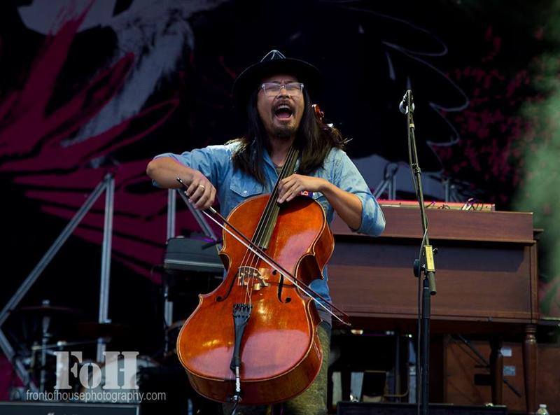 Joe Kwon is the cellist for the Avett Brothers and also runs a popular food blog based on where the band eats.