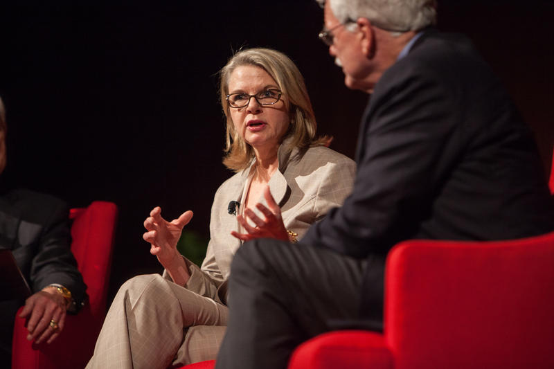 Margaret Spellings, former U.S. Secretary of Education under George W. Bush, has been tabbed as the next UNC system president.