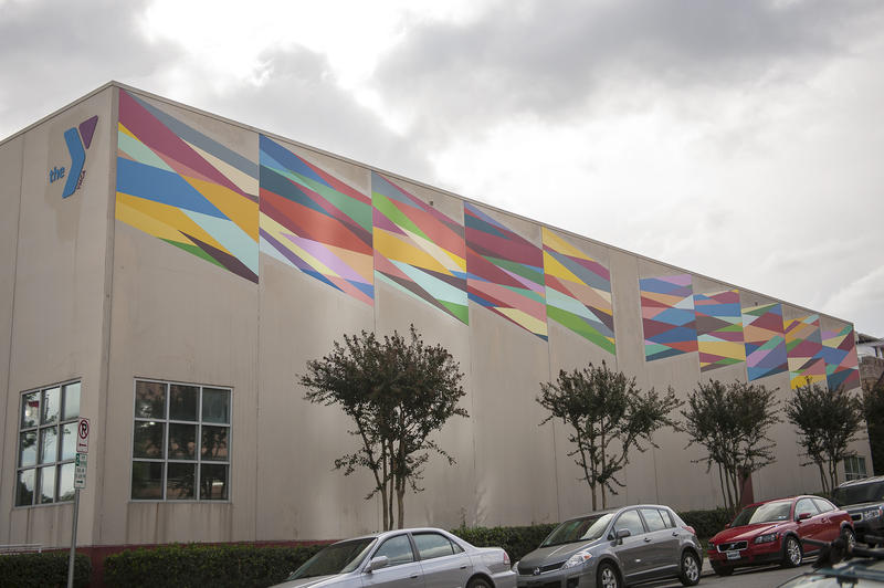 Downtown Durham YMCA mural