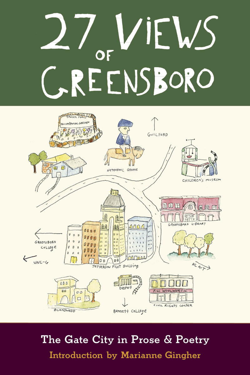 Book cover of 27 Views of Greensboro