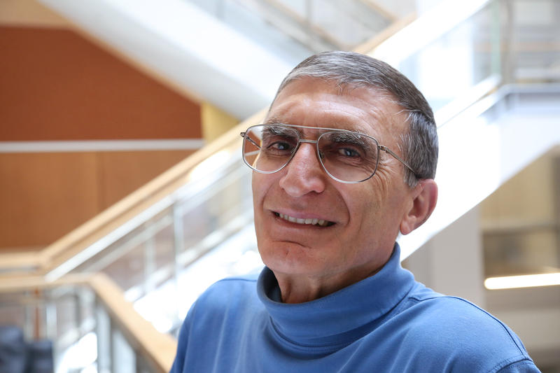 Aziz Sancar is a professor at the UNC-Chapel Hill School of Medicine and 2015 winner of the Nobel Prize for chemistry.