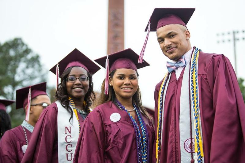 NCCU. College Graduates, End Zone