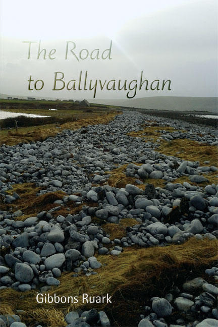 An image of the poetry book 'The Road to Ballyvaughan'