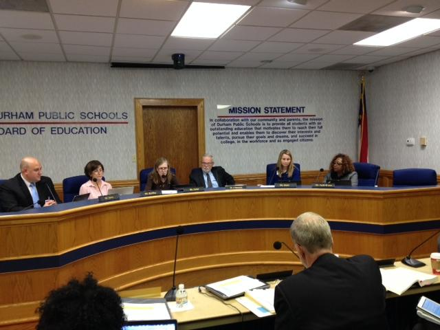 The Durham County Board of Education passed a resolution demanding the legislature repeal the A-F grading system.