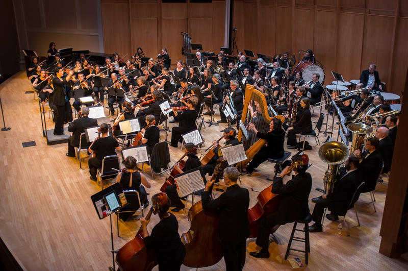 Duke Medicine Orchestra is comprised of nearly 90 musicians who are all involved in the Duke University Health System in some fashion.