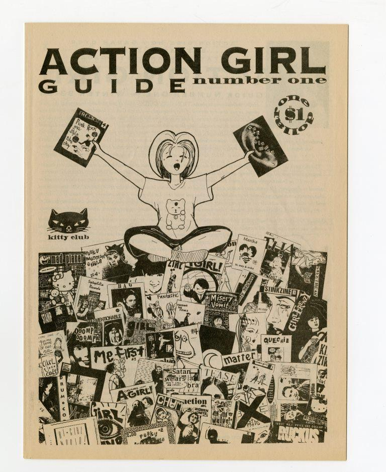 'Action Girl Guide' Number One