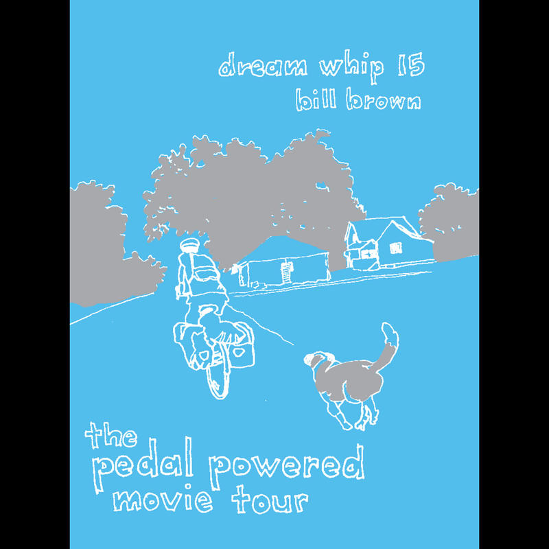 The cover of Bill Brown's zine, 'Dream Whip.'