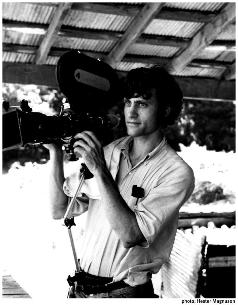 Bill Ferris filming