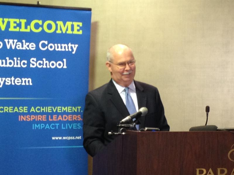 Wake County Superintendent Jim Merrill said the report shows investing in Wake schools has economic benefits for the county.