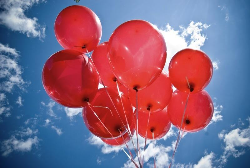 The Partnership For A Healthy Durham Will Release Red Balloons Into Sky Today In Memory Of People Who Have Died From Complications HIV AIDS