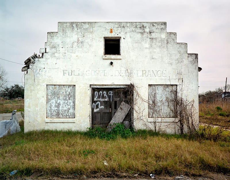 Image of abandoned building in Lower Ninth Ward by John Rosenthal