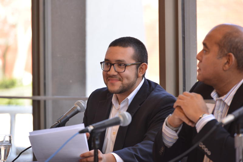 Ricky Hurtado is the executive director of the Scholars' Latino Initiative at UNC-Chapel Hill, where he helps Latino high school students earn a college degree.