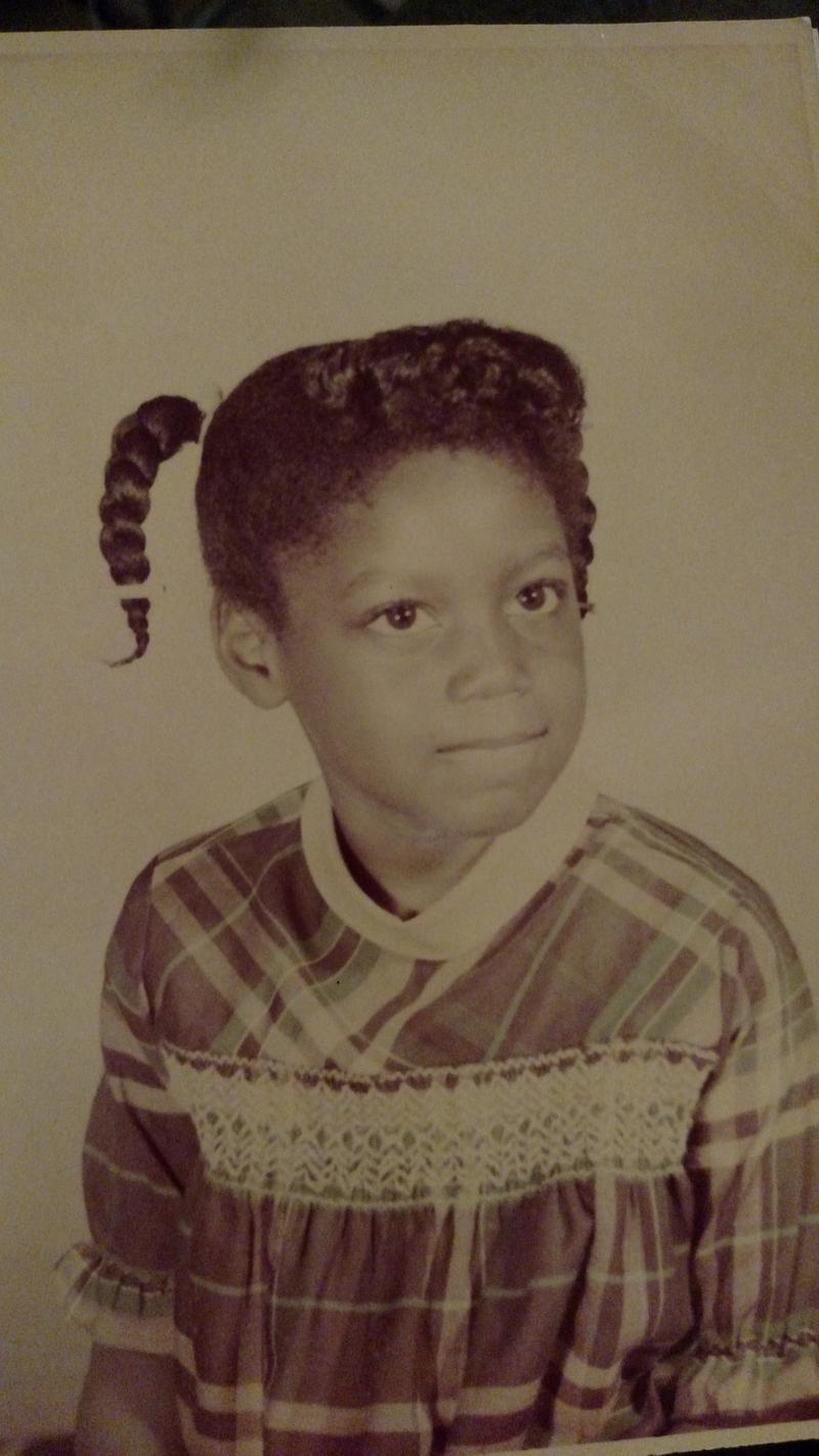 Image of Rosalynde Fenner age 6.