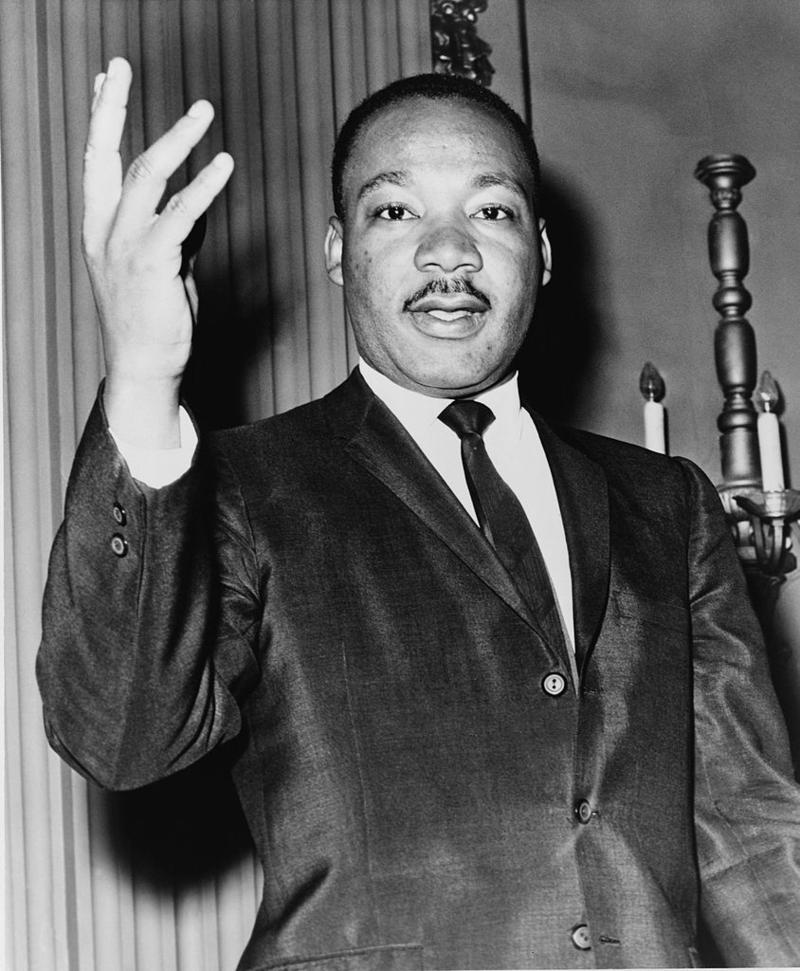 A picture of Dr. Martin Luther King, Jr.