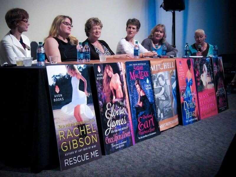 Romantic fiction writers gather at a conference