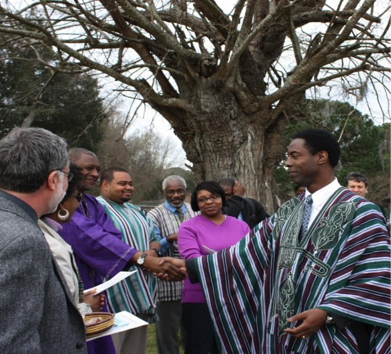 DNA Sierra Leoneans, including actor Isaiah Washington, gather in Charleston to honor their enslaved ancestors.