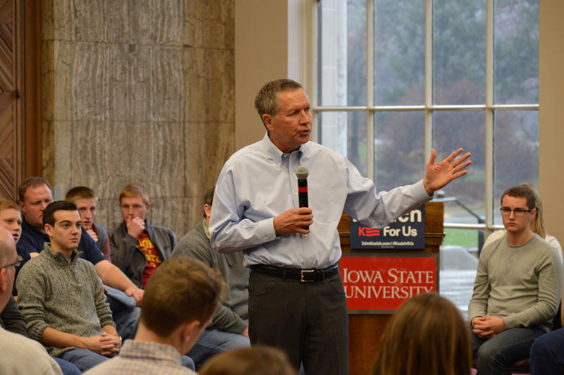 The Republican presidential field has thinned with Chris Christie and Carly Fiorina dropping out. Ohio Governor John Kasich remains and will try to keep up the momentum follwing his second-place finish in New Hampshire.