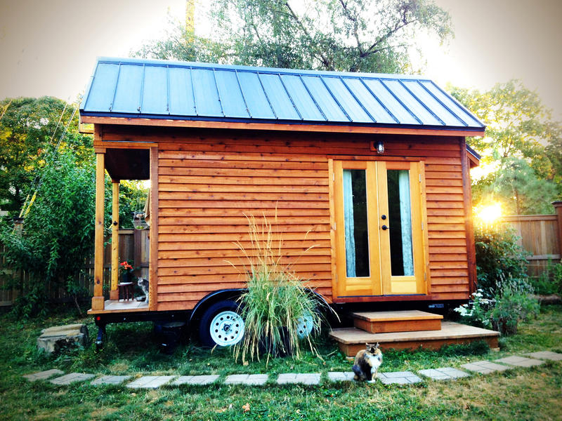 The popularity of the tiny house such as this one has grown in recent years due to its exposure on television. Thava Mahadevan sees a purpose for tiny houses in mental healthcare.