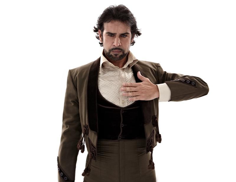 Antonio Hidalgo of Flamenco Vivo