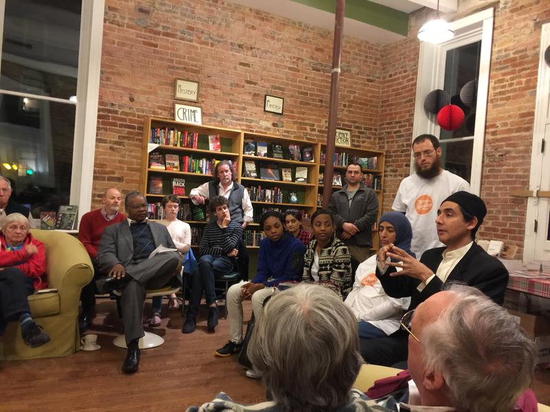 Scuppernong Books hosts a monthly public series called 'Ask A Muslim Anything' for participants break down barriers and learn more about Islam.