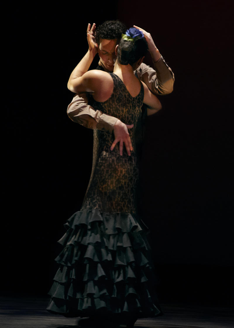 Isaac Tovar and Leslie Roybal in 'La Pasion Flamenca' with Flamenco Vivo (2013)