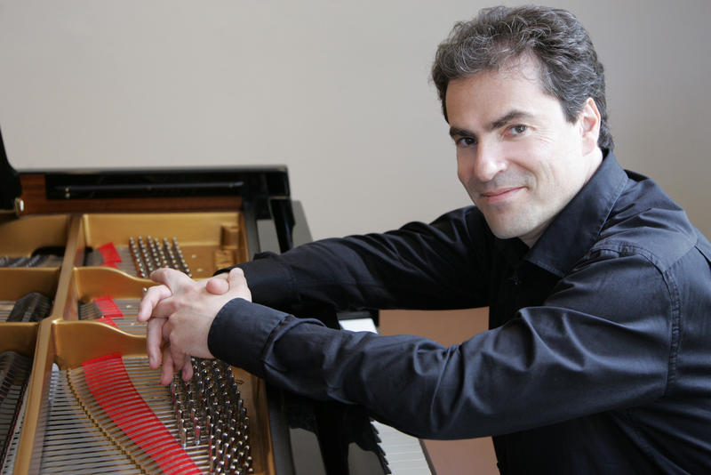 Stefan Litwin is a piano composer and music professor at UNC-Chapel Hill.