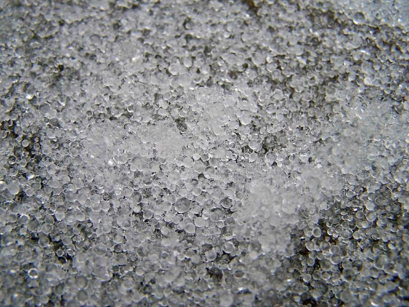 A picture of sleet