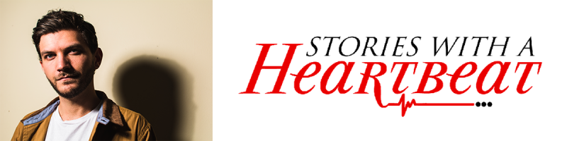 Stories with a Heartbeat Podcast Header Logo