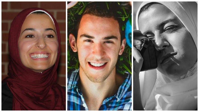 Yusor Abu-Salha, Deah Barakat and Razan-Abu-Salha were murdered on Feb, 10th, 2015.