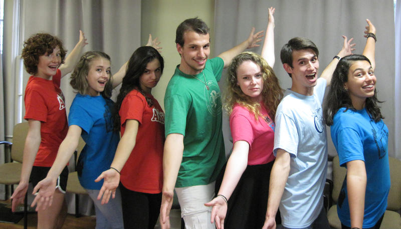 Image of Youth improv team 'Get The Hook'