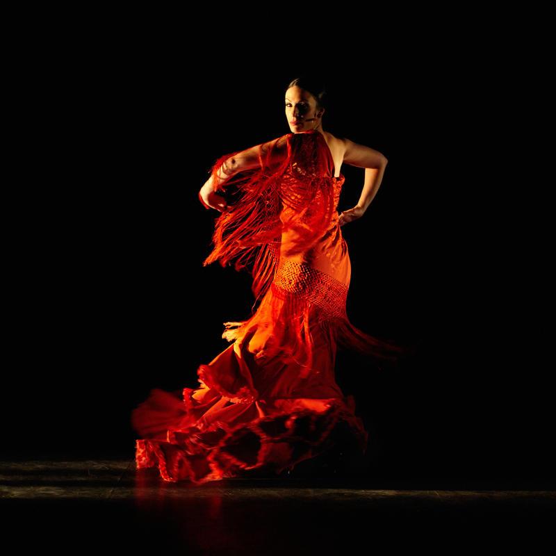 Fanny Ara in 'Mujeres' with Flamenco Vivo (2015)