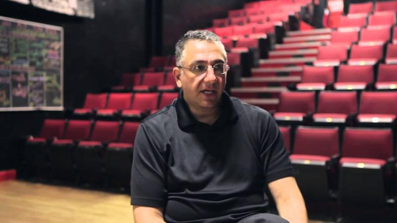 Image of Ali Farahnakian, the founder of Peoples Improv Theater (PIT),