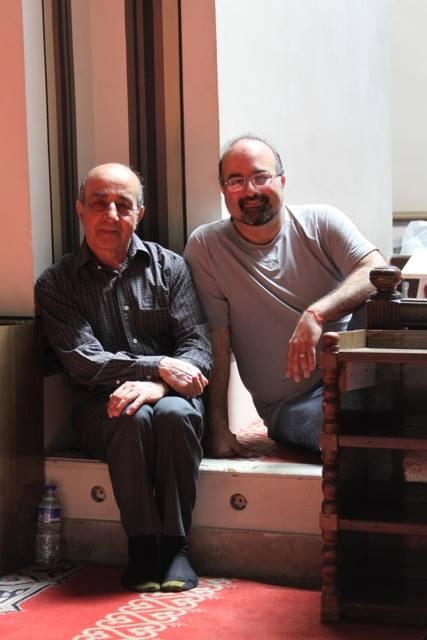 Image of Omid Safi with his father