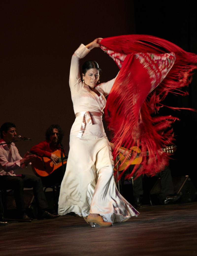 Leilah Broukim in 'La Pasion Flamenca' with Flamenco Vivo (2013)