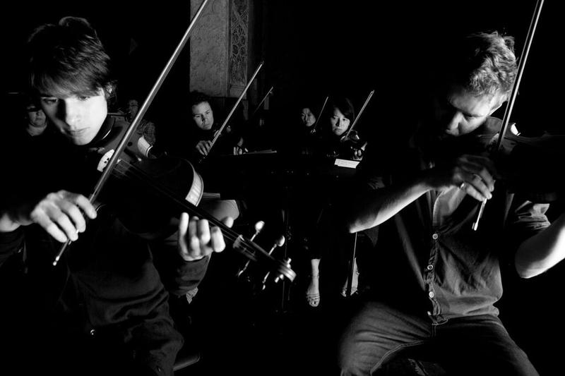 The Knights is a NYC-based orchestral collective that's flexible in size and repertory. Their concert opens the inaugural season of new Asheville-based arts organization Free Range Asheville.