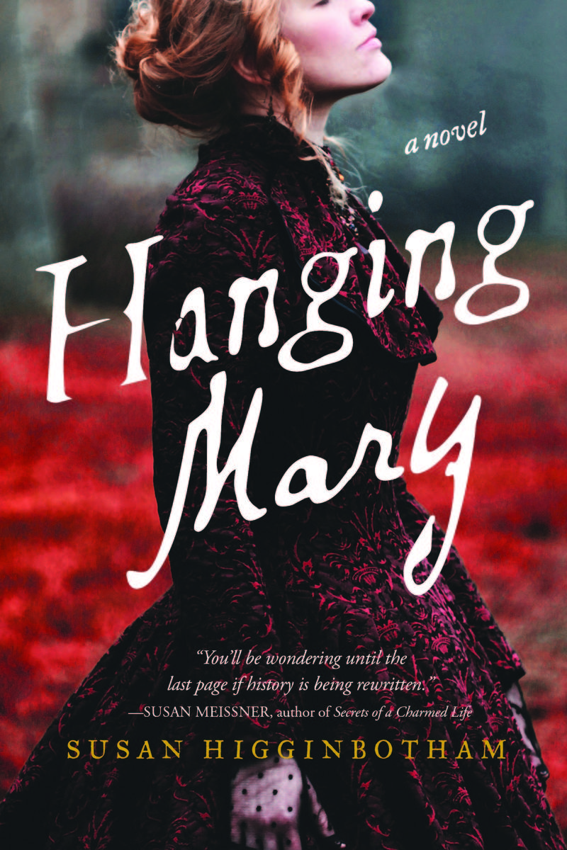 An image of the book cover for 'Hanging Mary' by Susan Higginbotham