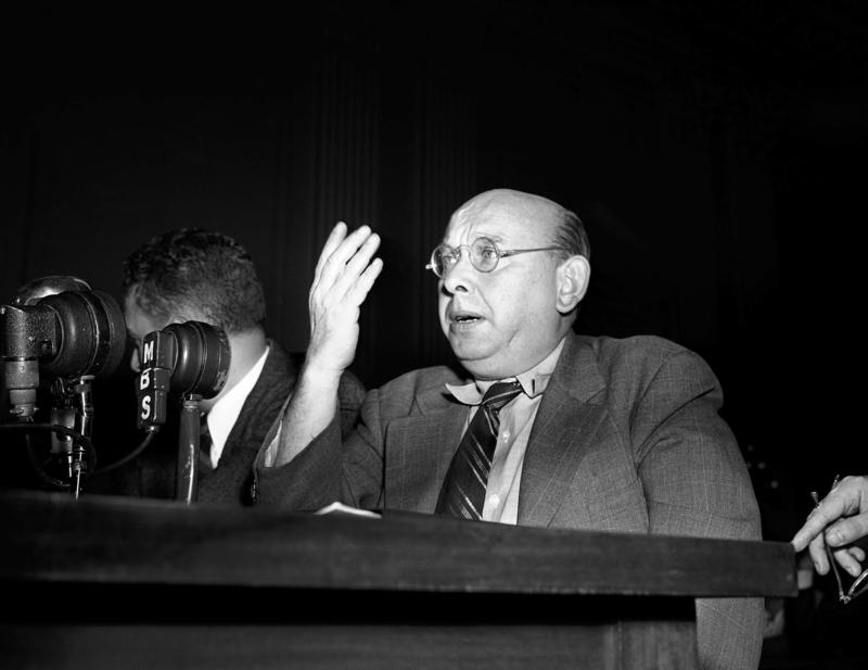 AP IMAGE: A conference at UNC-Chapel Hill looks at Austrian composer Hanns Eisler and how he broadcast political messages through contemporary compositions.