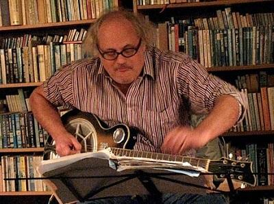 Image of Improviser, guitarist and banjoist Eugene Chadbourne