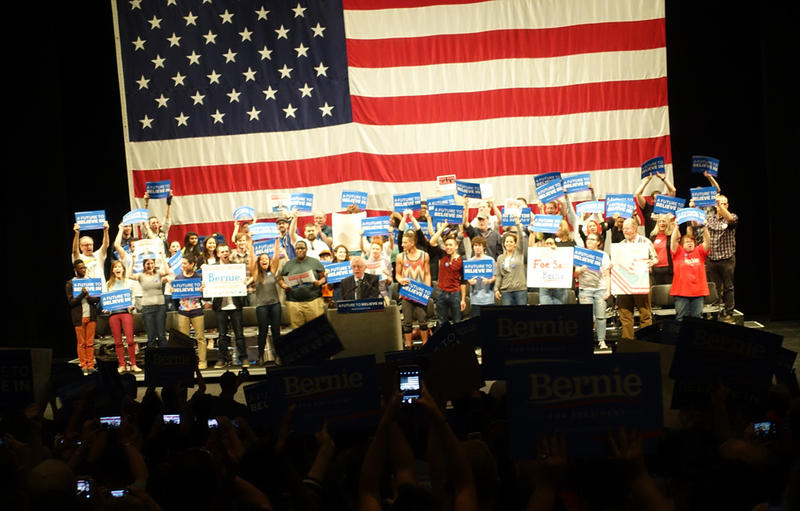 Photo: Bernie Sanders rally