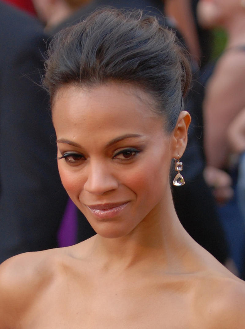 An image of Zoe Saldana