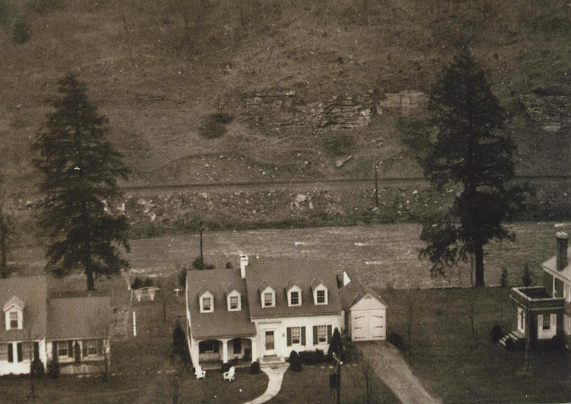 Lee Smith's family home in Grundy, Va.