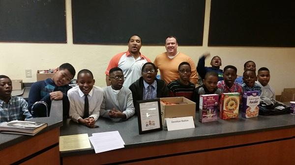 'Men of Honor' is a group of 47 elementary school boys mentored by NaShonda Cooke, a mother of two and Durham Public  Schools teacher.